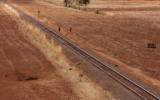 The old Uganda railway north of Voi (Kenya)<br />©La Vanguardia / Poldo Pomés