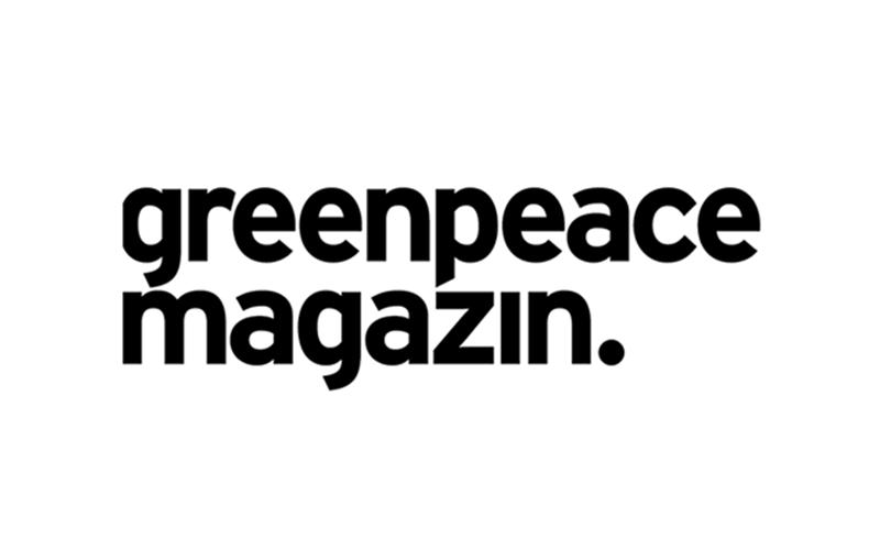 Greenpeace Magazine logo