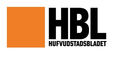 Hufvudstadsbladet logo